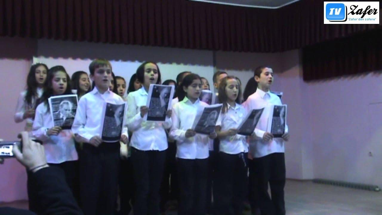 Atatürk'ü Anma Töreni-KORO