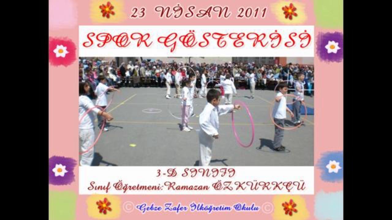 3-D Sınıfı 23 Nisan Gösterisi