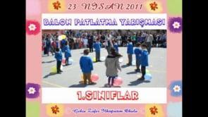 1.Sınıflar Balon Patlatma Yarışması
